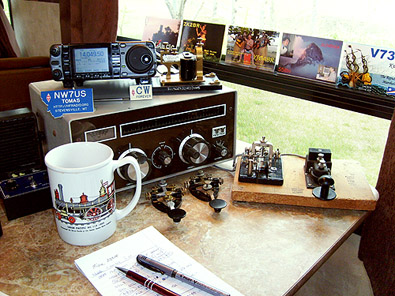 In general, my Amateur Radio (hobby) station runs 100 watts, ...