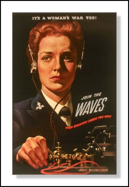 WWII It is a Woman's War - Morse Code